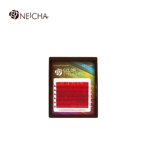 Ресницы для наращивания Neicha MINI MIX RED – шелковые ресницы насыщенного красного цвета из гипоаллергенного синтетического моноволокна.  Цветные ресницы Neicha обладают легким мерцающим блеском и помогут создать яркий и эффектный образ. Широкая палитра оттенков ресниц для наращивания Neicha дарит свободу выбора и простор для творчества. Ресницы для наращивания Neicha MINI MIX RED представлены в различных изгибах, толщинах и миксах длин, 6 линий в палетке. Подходят для однотонного цветного наращивания или сочетания различных оттенков, а также добавят акцент взгляду при наращивании вместе с черными ресницами.