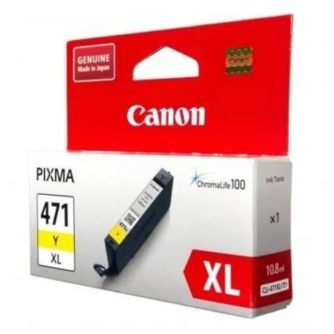 Картридж Canon CLI-471XL Y желтый