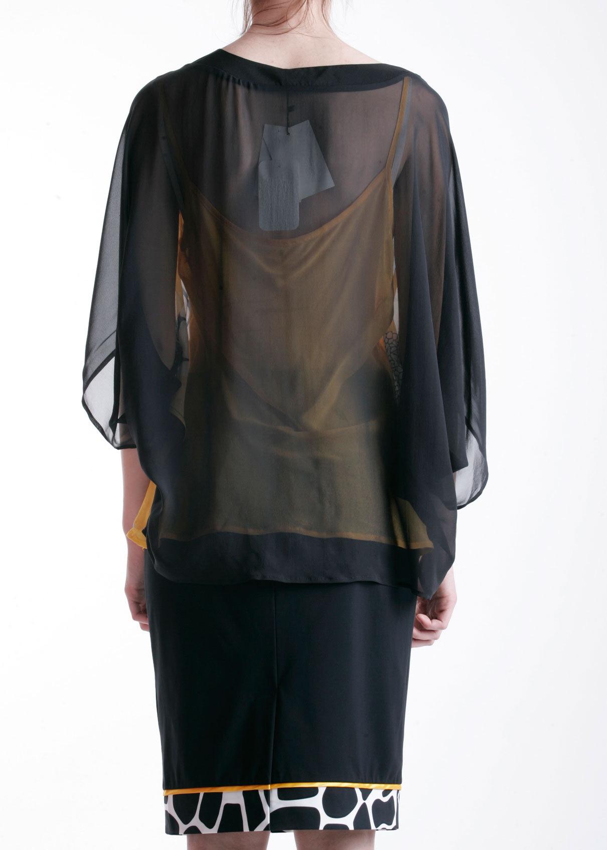 Блуза из шелка ANGELO MARANI