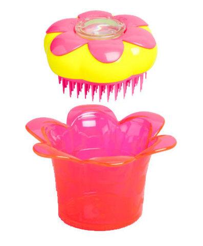 Расческа для волос со шкатулкой Tangle Teezer Magic Flowerpot Princess Pink