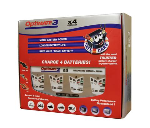 Зарядное устройство Optimate 3 X4 (TM-454)