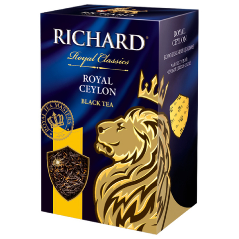 """Чай черный листовой """"Richard"""" Royal Ceylon 90гр"""