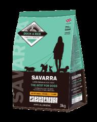 Корм для собак мелких пород SAVARRA Adult Dog Small Breed с уткой и рисом