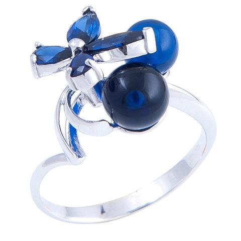 Кольцо с сапфиром Арт.1173кс
