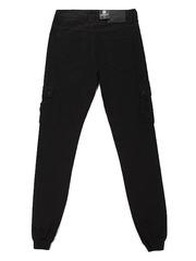 1-1662 джинсы мужские, черные