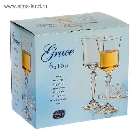 1664938 Набор бокалов для вина 6шт 185мл