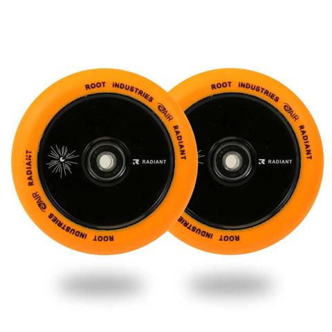 Пара колёс для самоката ROOT INDUSTRIES Air Radiant (Orange)