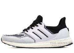 Кроссовки Мужские Adidas Ultra Boost White Black