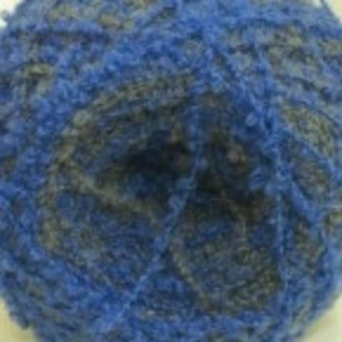 Пряжа Суперфантазийная цвет 783 серый/голубой Пехорка - купить в интернет-магазине Клубок Шоп