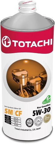 Eco Gasoline 5W-30 TOTACHI масло моторное полусинтетическое (1 Литр)