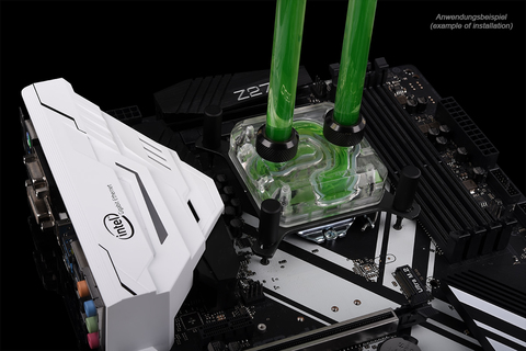 Alphacool Eisblock XPX CPU - Intel/AMD - polished Plexi Version