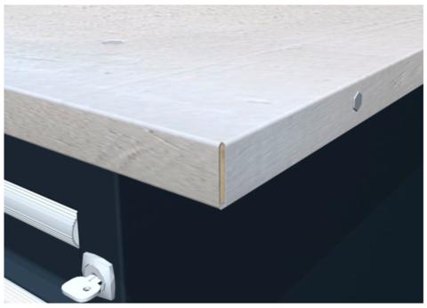 Titan. Столешница оцинкованная для верстака металлического 08.119G