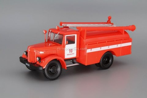 MAZ-205 AS-30 (205) fire truck 1:43 DeAgostini Auto Legends USSR Trucks #28