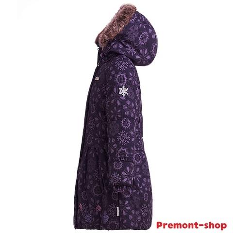 Пальто для девочки Premont Черничный грант WP91353 PURPLE