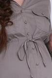 Платье 05529 коричневый