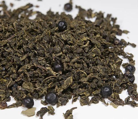 Светлый улун с черной смородиной (50 гр)