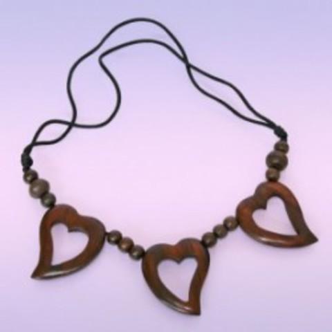 Колье Три сердечка-привлечение любви