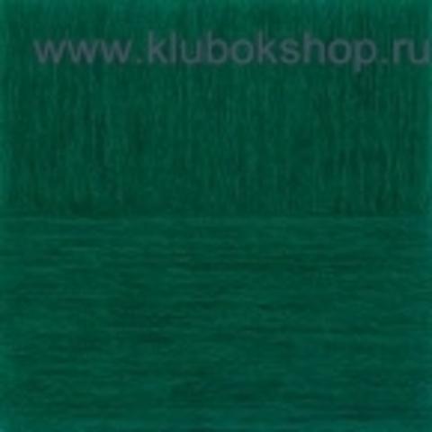 Пряжа Гламурная (Пехорка) темный изумруд 573