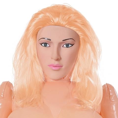 Надувная секс кукла со вставками Mona Mountains блондинка