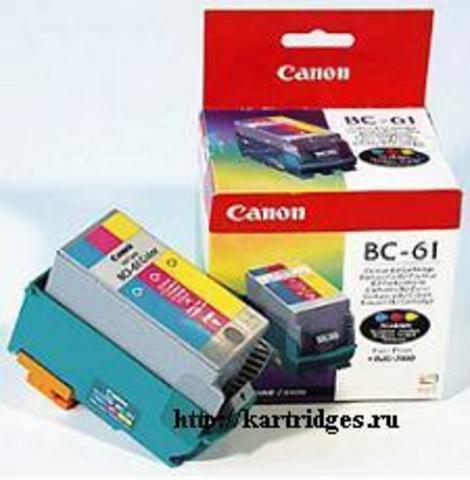 Картридж Canon BCI-61
