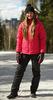 Утеплённая прогулочная лыжная куртка Nordski Motion Raspberry женская