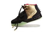Кроссовки мужские Nike Air Yeezy 2 Black Gold