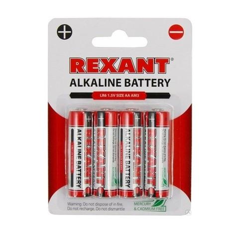 Батарейки АА/LR6 1,5V, 4шт. (пальчик)