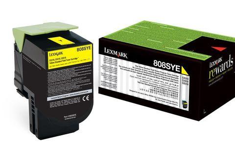Картридж для принтеров Lexmark CS510 желтый (yellow). Ресурс 4000 стр (70C8XYE)