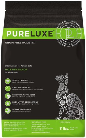PureLuxe Elite Nutrition for persian cats with salmon