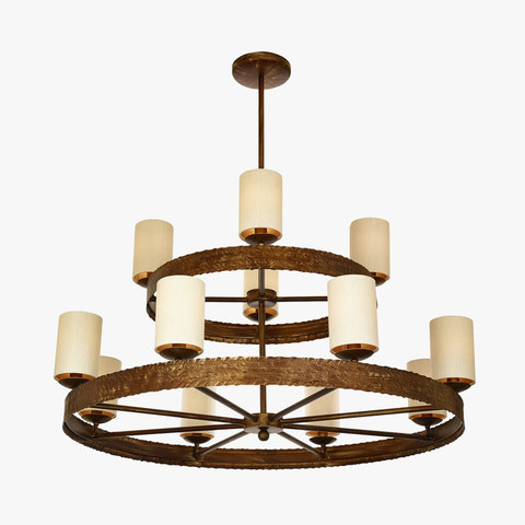 replica light  MILNE CHANDELIER  by BELLA FIGURA
