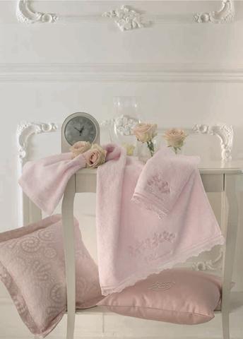 Набор полотенец 5 шт Blumarine Delizia розовый