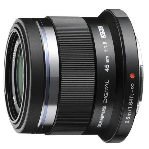 Olympus 45mm f/1.8 Black