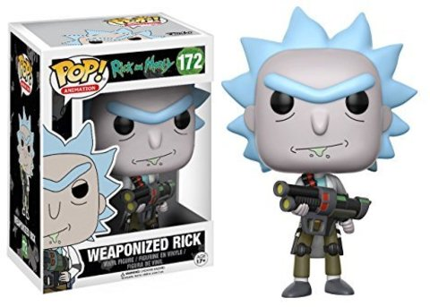 Фигурка Funko POP! Vinyl: Rick  Morty: Weaponized Rick 12439