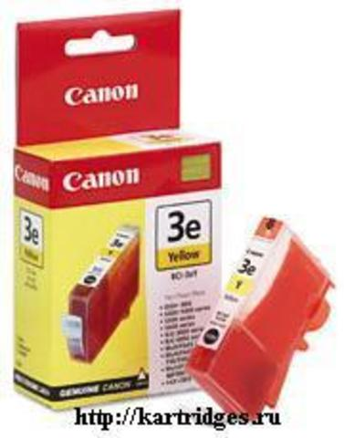 Картридж Canon BCI-3eY