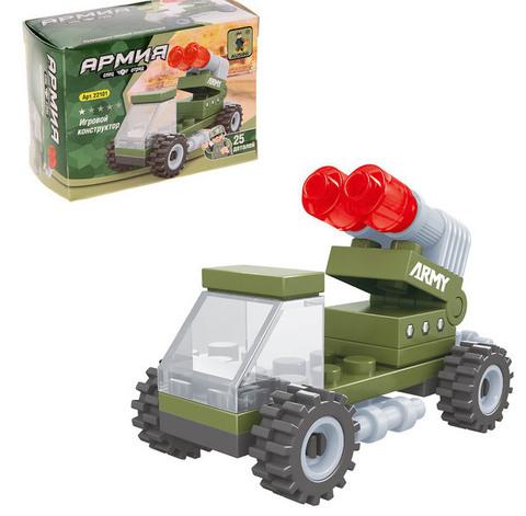 9762 Конструктор «Ракетница», 25 деталей