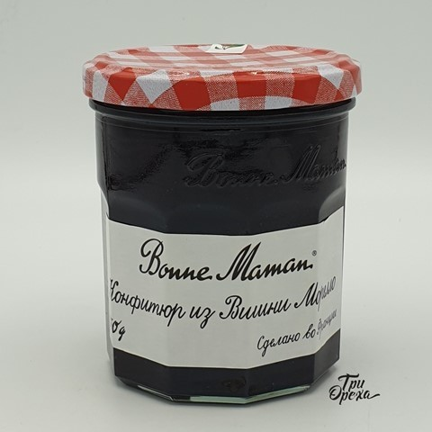 Конфитюр из вишни морелло 50 % BONNE MAMAN, 370 гр