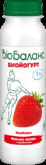 """Биойогурт """"Био-Баланс"""" клубника 1% 270 г"""