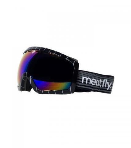 Сноубордическая маска Meatfly Terrain (black/white)