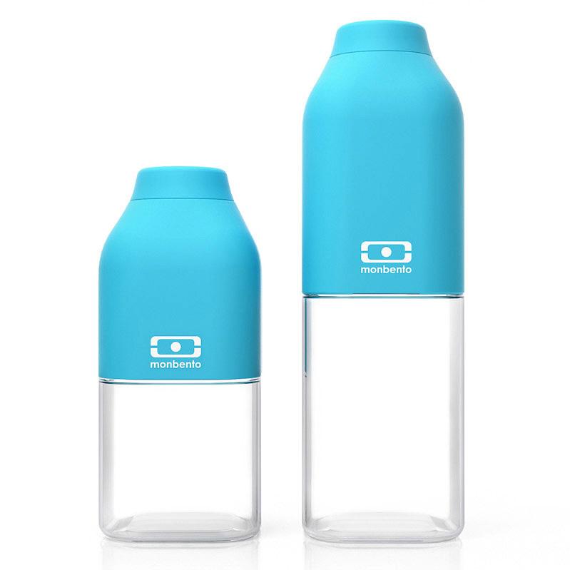 Бутылка Monbento Positive (0,33 литра) голубая