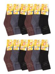 BSA37  носки детские (12 шт.). цветные