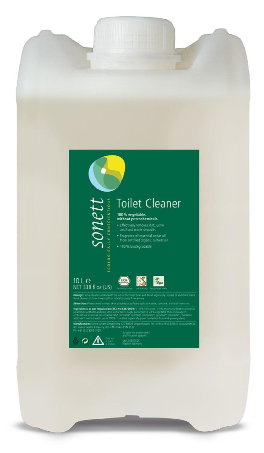 "Средство для чистки туалета ""С маслами кедра и цитронеллы"" Sonett - 10 л"