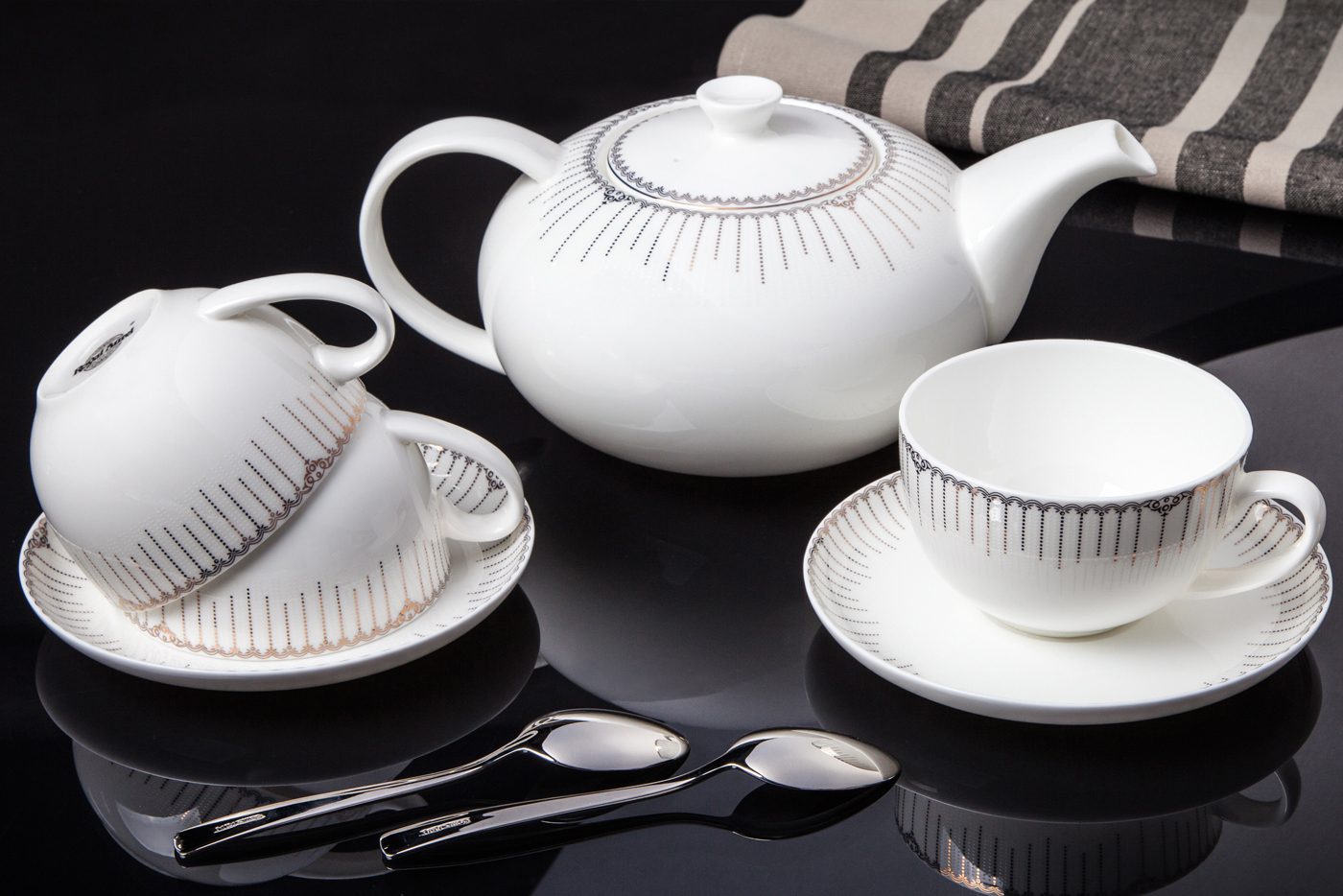 """Чайный сервиз Royal Aurel """"Версаль"""" арт.144, 13 предметов"""