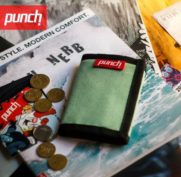 Кошелек Punch - Cash, Mint