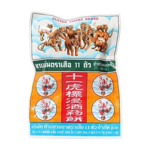 11 Тигров травяной сбор для приготовления настойки, 20 гр