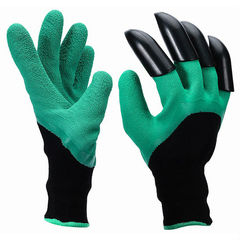 Перчатки садовые с когтями Genie Gloves