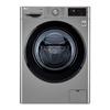 Узкая стиральная машина LG с функцией пара Steam F2M5HS6S