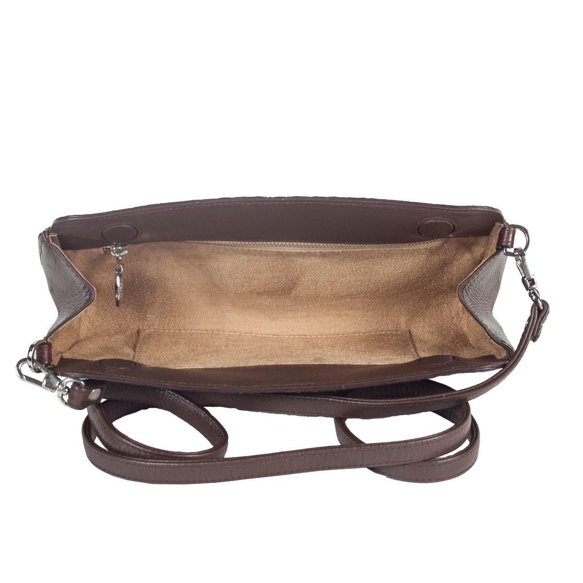 сумка BOY CHANEL, серебристый металл и кожа ягненка