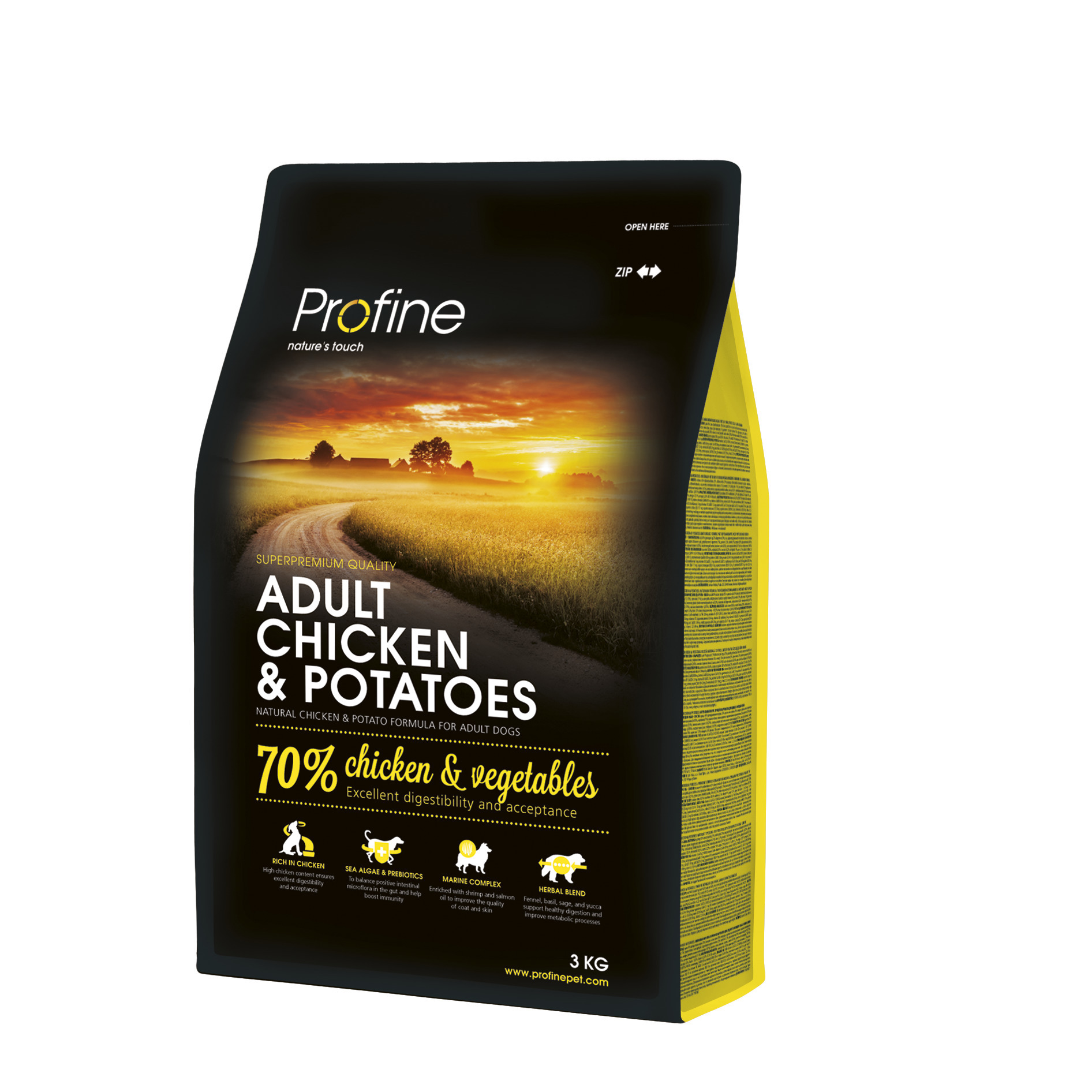 Profine Adult Chiken and Potatos 3 kg