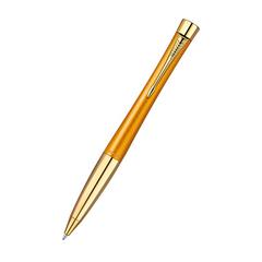 Шариковая ручка PARKER URBAN Premium Mandarin, увет: Yellow GT, цвет стержня : синий,  1892655