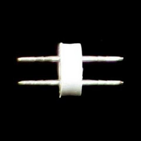 Соеденитель для шланга дюралйт двух жильный ПВХ трубки LED двухполюсный крепление соединение зажим переходник 13 мм